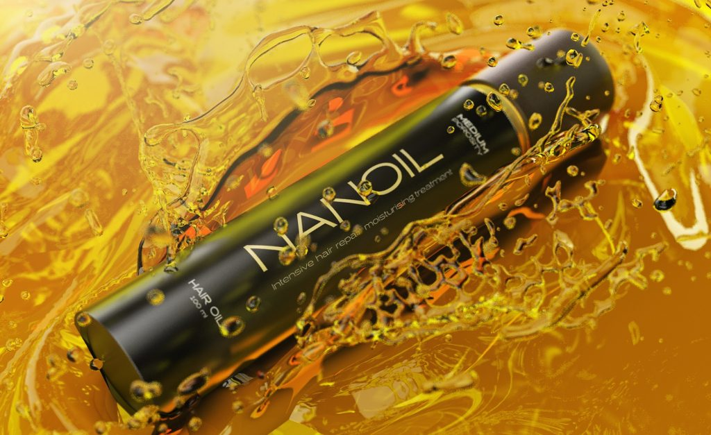 Nanoil hair oil - maximum effects