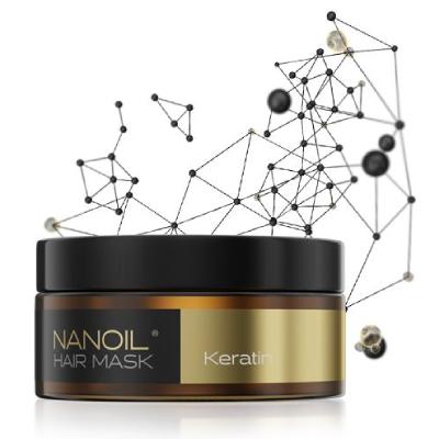 Hair mask Nanoil Keratin